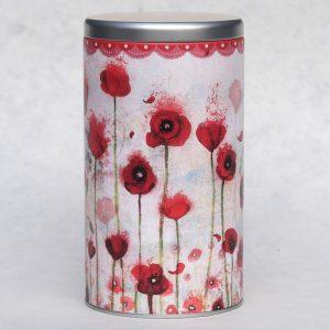 Boîte à café Poppies