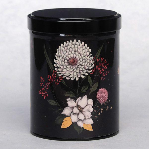 Boîte à thé empilable Flora