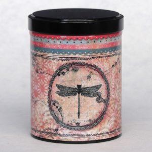 Boîte à thé Libellule