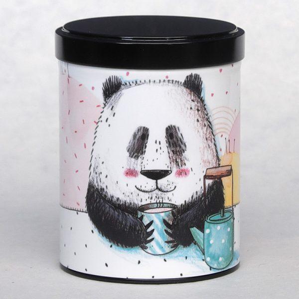 Boîte à thé empilable Panda