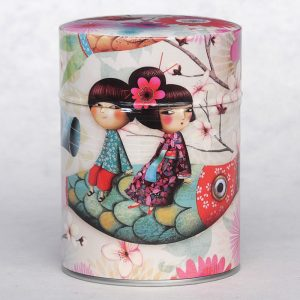 Boîte à thé classique Carpe