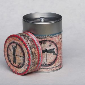 Boîte à thé luxe Libellule