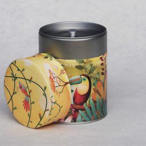 Boîte à thé luxe Toucan