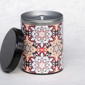 Boîte à thé Jhirpa mandala