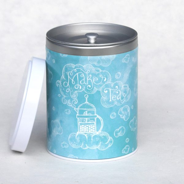 Boîte à thé Makes tea