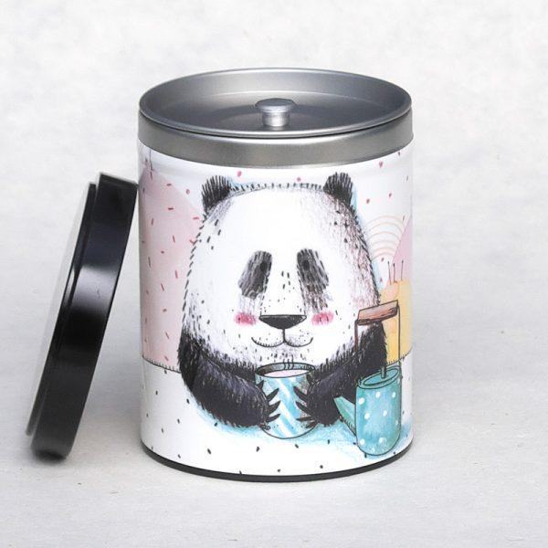 Boîte chapeau Panda