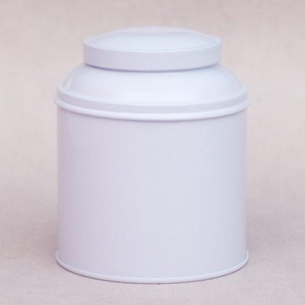 Boîte à thé coupole blanche