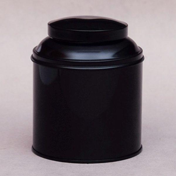 Boîte à thé coupole noire
