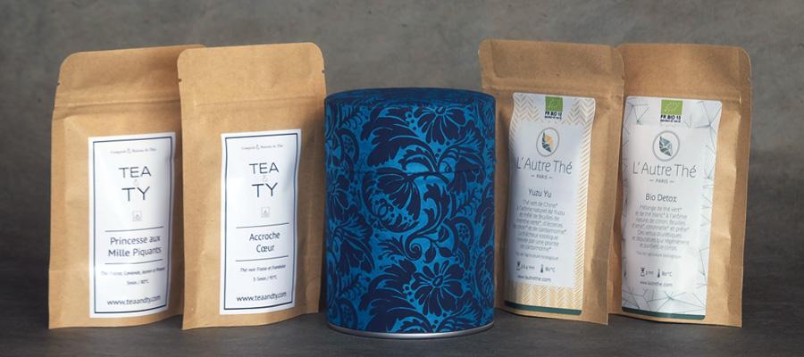Echantillons thé - Tea & Ty - L'autre thé