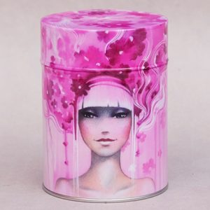 Boîte à thé Pink