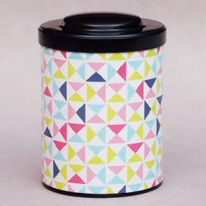 Boîte à thé Triangles