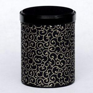 Boîte à thé washi Karakusa