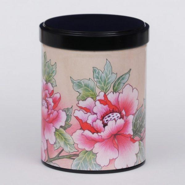 Boîte à thé Pivoines