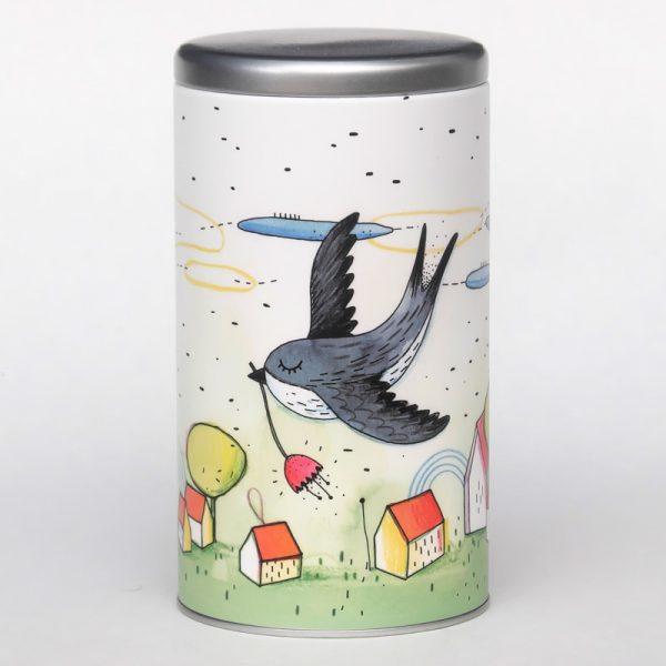 Boîte à café – Hirondelle