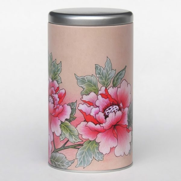 Boîte à café – Pivoines
