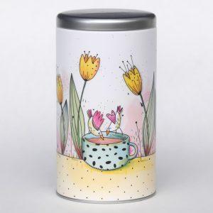 Boîte à café – Tulipes