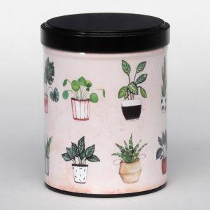 Boîte à thé d'artiste empilable – Belles plantes