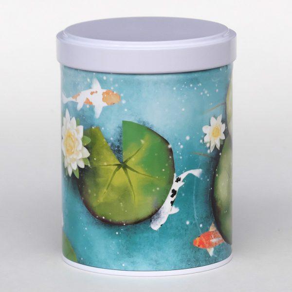 Boîte à thé d'artiste empilable – Lotus
