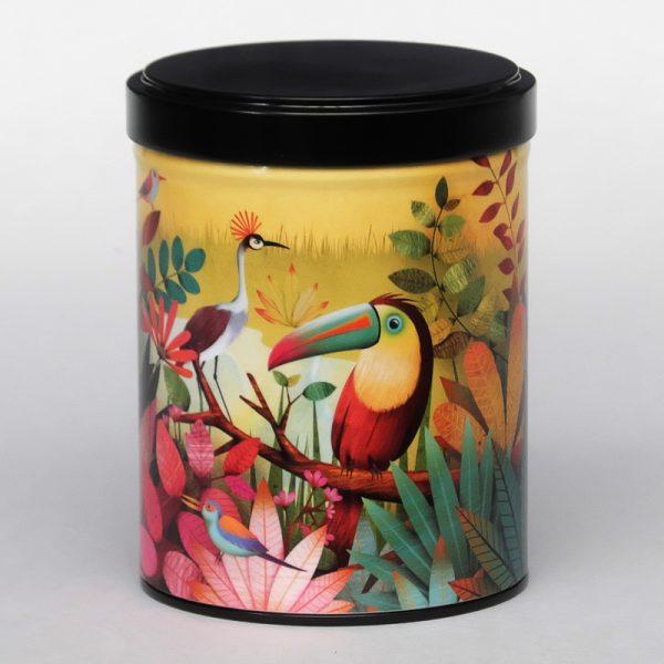 Boîte à thé d'artiste empilable – Toucan