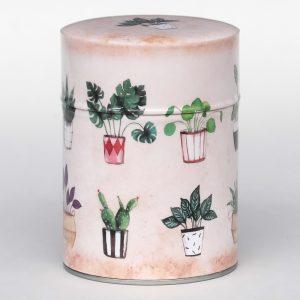 Boîte à thé luxe d'artiste – Belles plantes