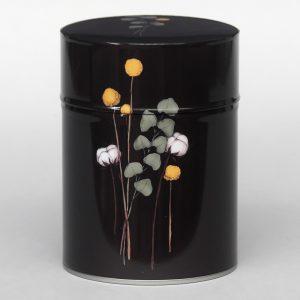 Boîte à thé luxe d'artiste – Fleurs de coton