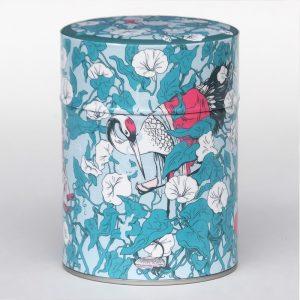 Boîte à thé luxe d'artiste – Hirugao