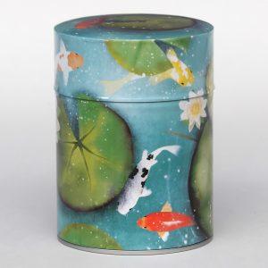 Boîte à thé luxe d'artiste – Lotus