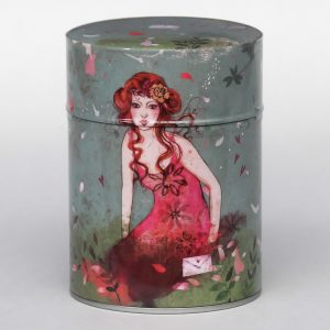 Boîte à thé luxe d'artiste – Secret garden