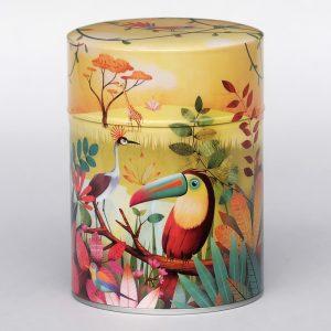 Boîte à thé luxe d'artiste – Toucan