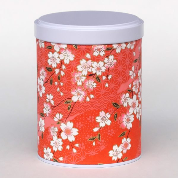 Boîte à thé washi empilable - Akai