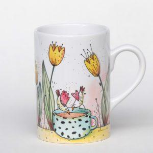 Mug pour le thé – Tulipes