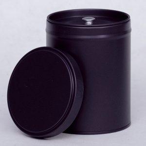 Boîte à thé violet