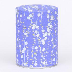 Boîte à thé washi Purple Taki