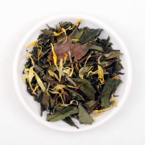 Thé blanc et vert bio Abricotini