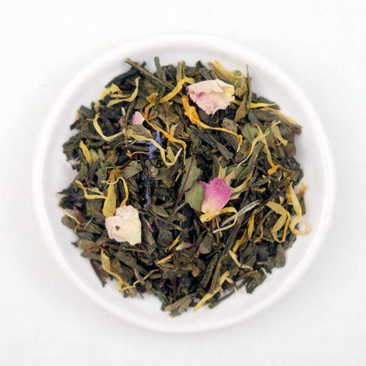 Thé vert et blanc bio Vitalité