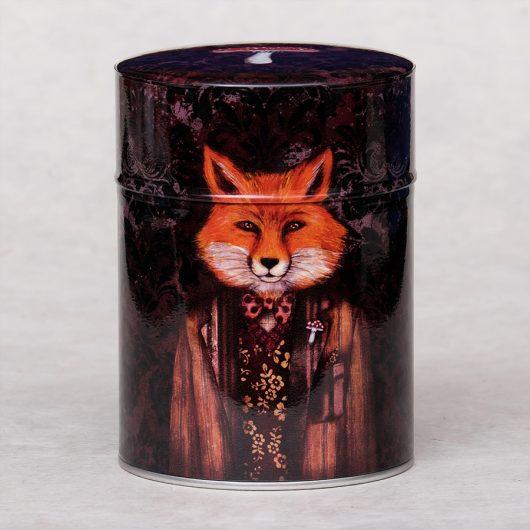 Boîte à thé illustrée Lord Fox - Minasmoke