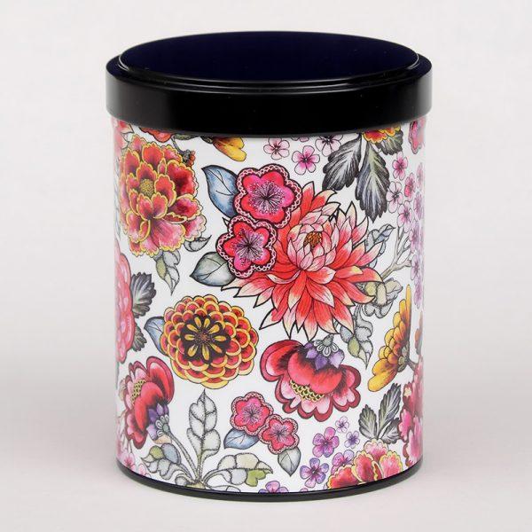 Boîte à thé Jardin des fleurs