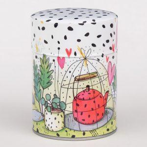 Boîte à thé Théière en cage - Lucie Georger
