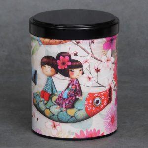Boîte à thé Carpe