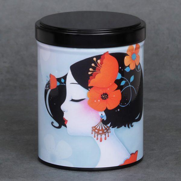 Boîte à thé d'artiste empilable – Chiharu