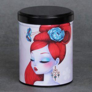Boîte à thé d'artiste empilable – Hanako