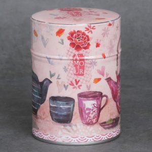 Boîte à thé Amour