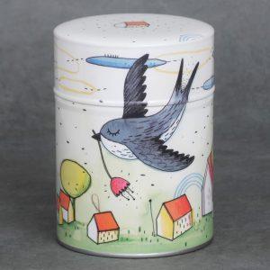 Boîte à thé Hirondelle