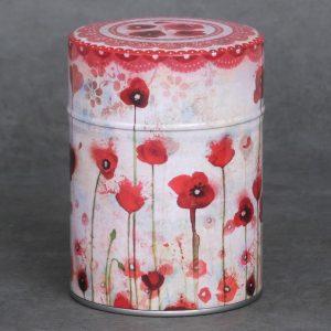 Boîte à thé Poppies