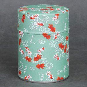 Boîte à thé washi - Sakana