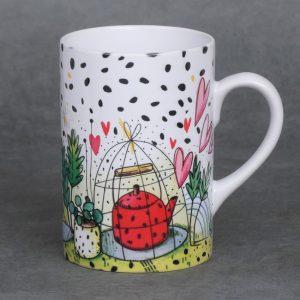 Mug pour le thé – Théière en cage