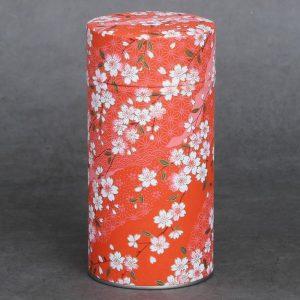 Grande boîte à thé washi Akai