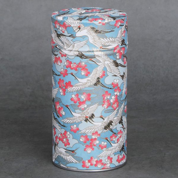 Grande boîte à thé washi Kiso