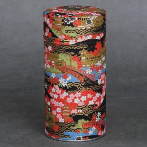 Grande boîte à thé washi Nakaedo