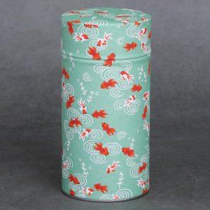 Grande boîte à thé washi Sakana